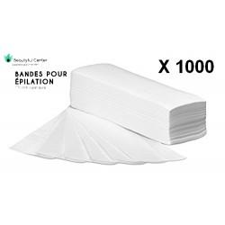 1000 BANDES pour EPILATION
