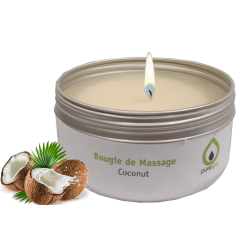Bougie de massage COCONUT