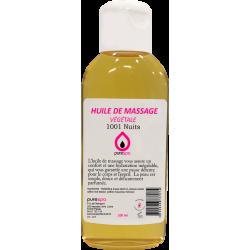 Huile de massage 100% végétale parfum 1001 NUITS