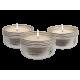 Coffret sensuel de 3 Bougies de massage EMPIRE DES SENS
