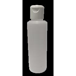 Lot de 200 Flacons transparent vide de 125 ml, avec capsule réductrice, spécial huile de massage, soin du corps et soin visage