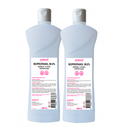 2 Cleaner Isopropanol 99.8% - Isopropylique - 1000ml - Purenail - Livraison Gratuite en France…
