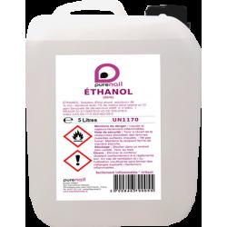 ETHANOL 96%  , jerrycan de 5 Litres  sert a fabriquer les solutions de desinfection