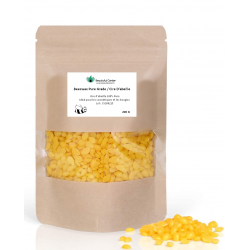 Cire d'abeille Pastilles 100% Pure  - pour les cosmétiques et la fabrication de bougies - Purespa by Purenail