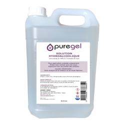 Solution Hydroalcoolique Bidon 5 L , Lotion désinfectante PUREGEL by Purenail