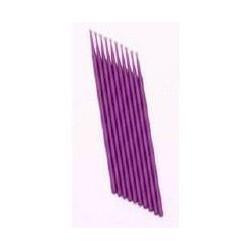 100 Bâtonnets Violet Micro Brosse Pinceau