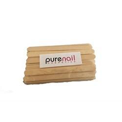 50 Spatules fine en bois pour épilation à la cire