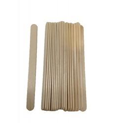 20 Spatules fine en bois pour épilation à la cire
