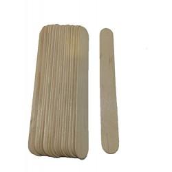 20 Spatules moyenne en bois pour épilation à la cire