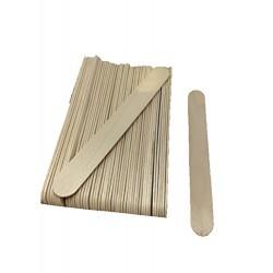 50 Spatules moyenne en bois pour épilation à la cire