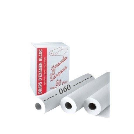 1 Rouleau de Drap Examen Blanc 60cmX38/150