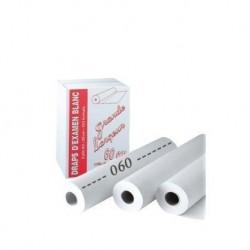 9 rouleau Drap Examen Blanc 60cm X38cm/150