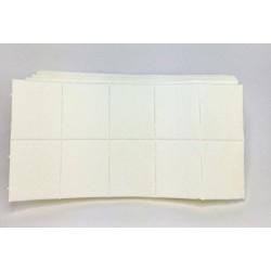 100 carrés de cellulose s