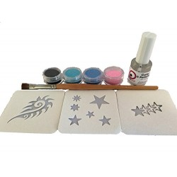 Kit Tatouages temporaires Collection STARS