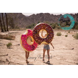 Deux Bouées géantes gonflables DUO Donut