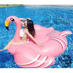 Matelas gonflable Flamingo Rose