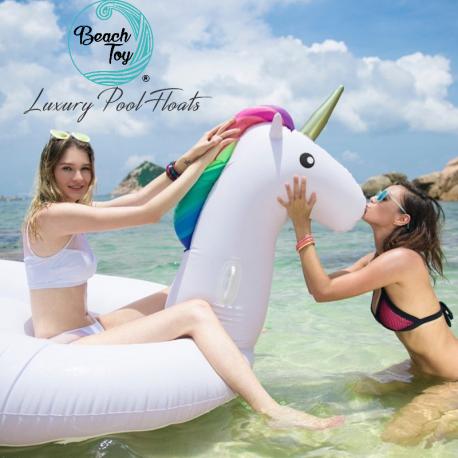 Beach Toy ® - Bouée géante Licorne