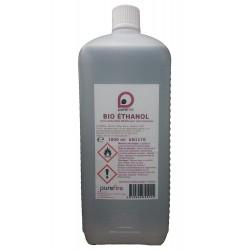 BIO ETHANOL Haute-Performance, 1 Litre, 99,8% Pure combustible pour cheminée mobiles ou d'extérieur, PUREFIRE